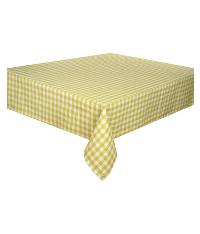 LOVE FOR HOME 4 Seater Cotton Single Table Covers