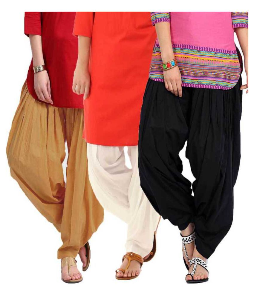 uner Cotton Pack of 3 Patiala