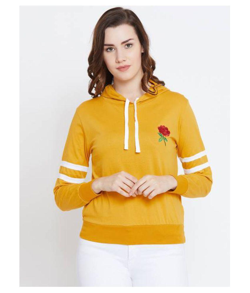Bombay Clothing Company Cotton Yellow T-Shirts