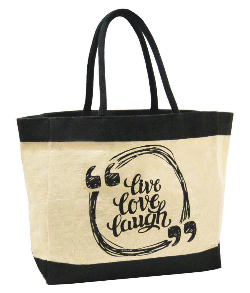 Earthbags Black Shopping Bags - 1 Pc
