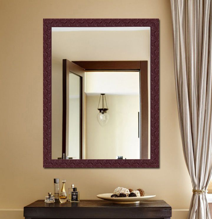 Elegant Arts & Frames Mirror Wall Mirror ( 91 x 60 cms ) - Pack of 1