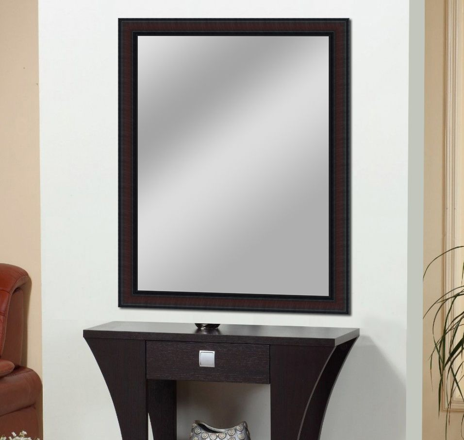 Elegant Arts & Frames Mirror Wall Mirror ( 91 x 60 cms ) - Pack of 1