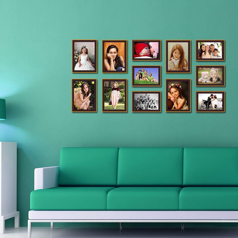 Elegant Arts & Frames Wood Maroon Collage Photo Frame - Pack of 1