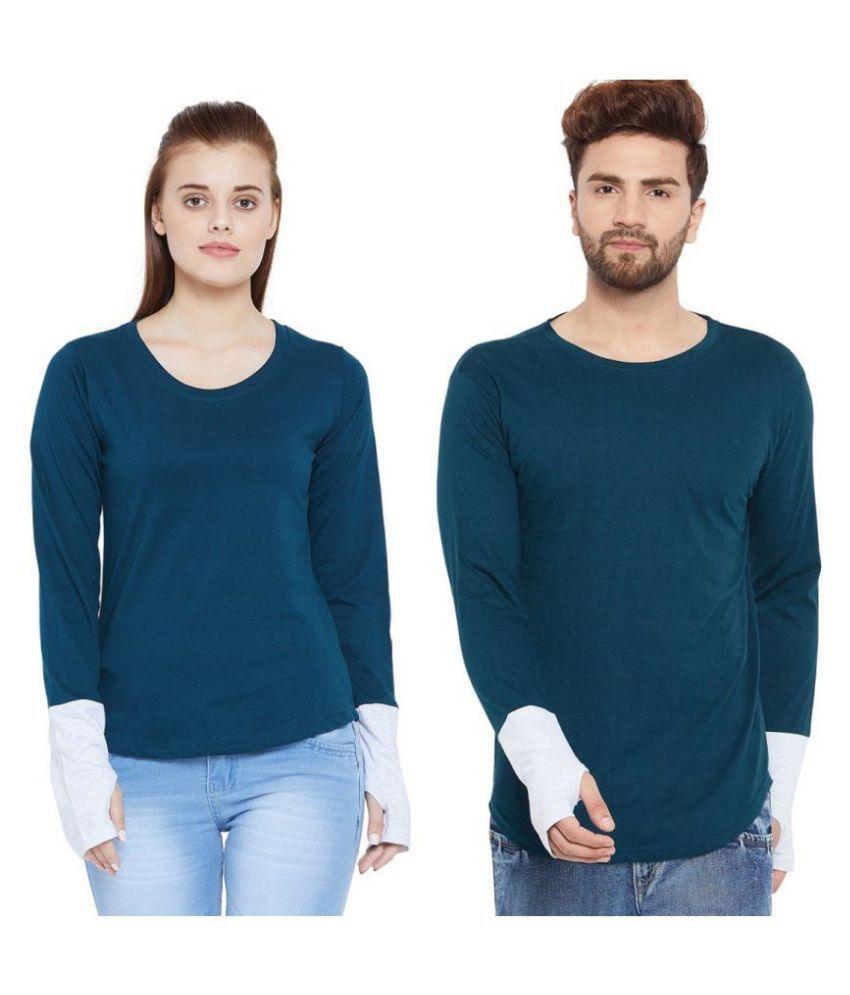Bombay Clothing Company Blue Cotton blend Couple Combo