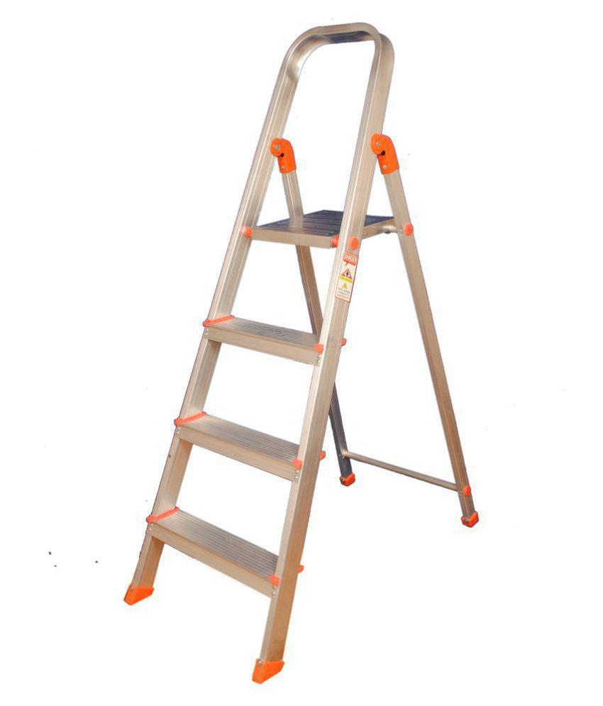 Champion Advance 4-Step Foldable Aluminium Ladder With