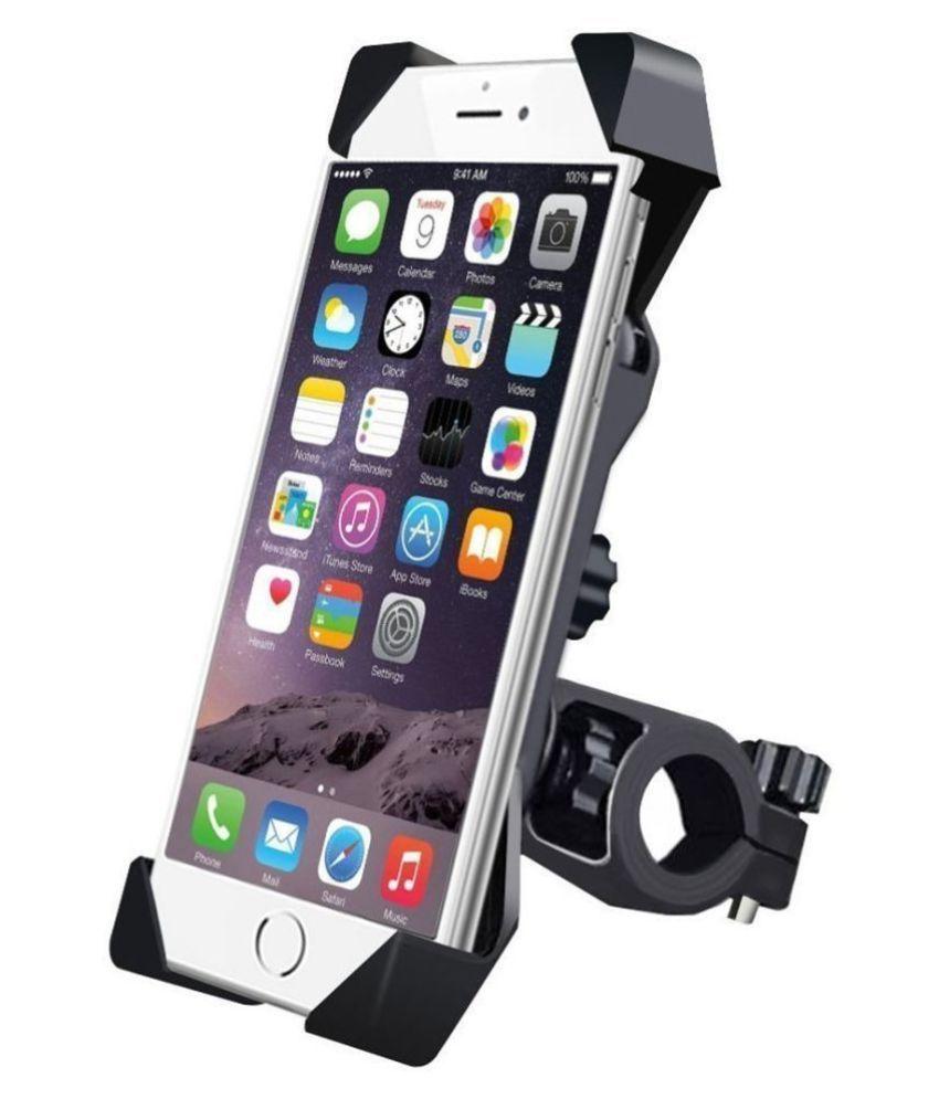 VIJSUN Bike Mobile Holder Mount Stand Adjustable 360 Degree Rotatable for Bicycle  amp; Motorcycle Handlebar