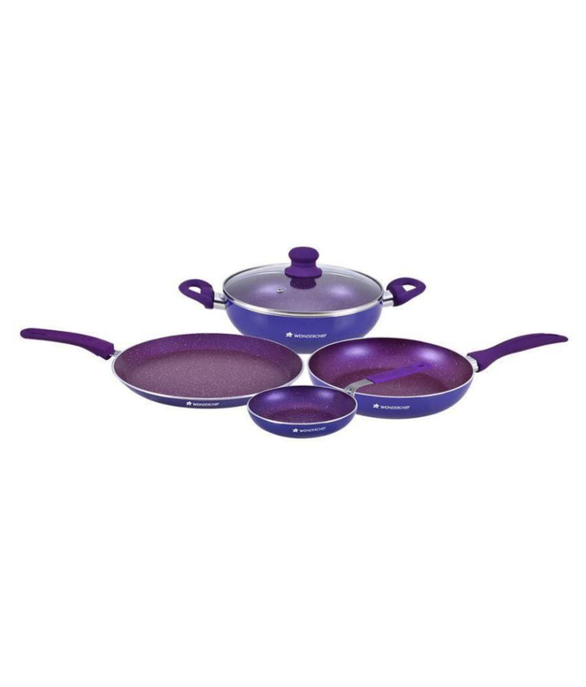 Wonderchef Blueberry Set 4 Piece Cookware Set