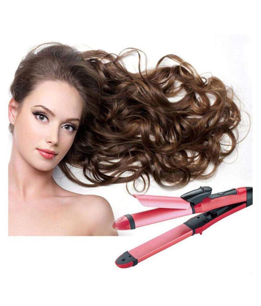 hi-lee Hair Straightener Hair Straightener ( Pink )