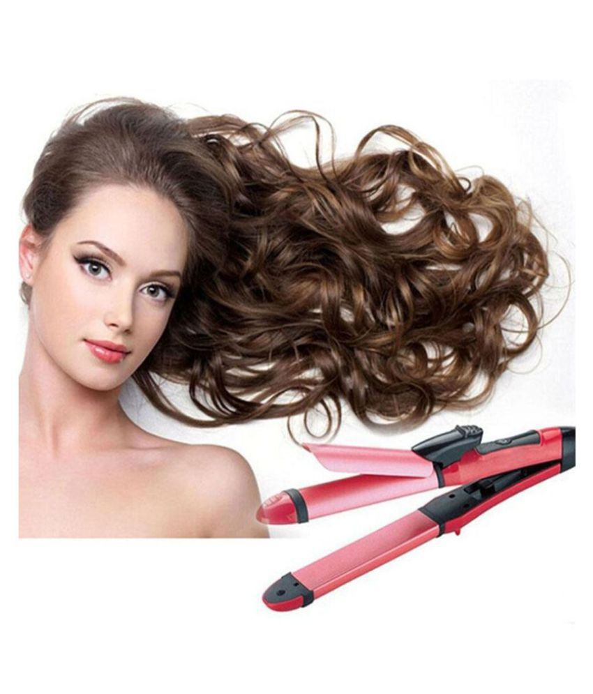 Bentag PN-2009 Hair Straightener ( pink )