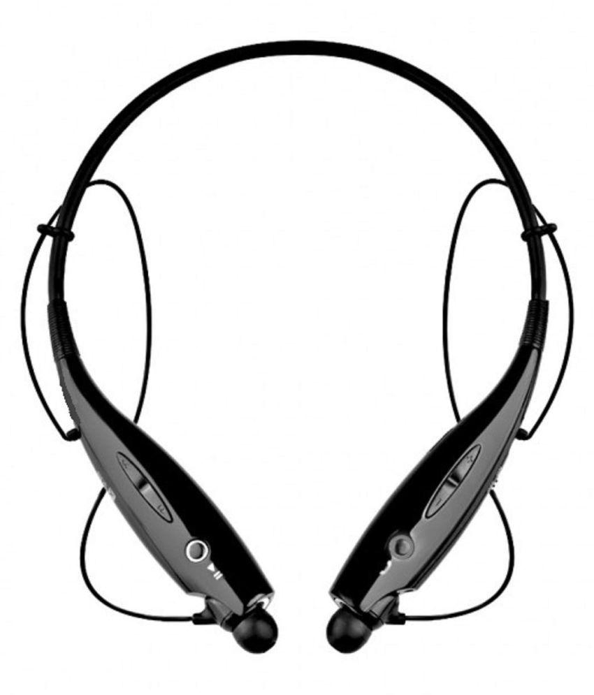 Bhavi Sports HBS730 Neckband Wireless With Mic Headphones/Earphones