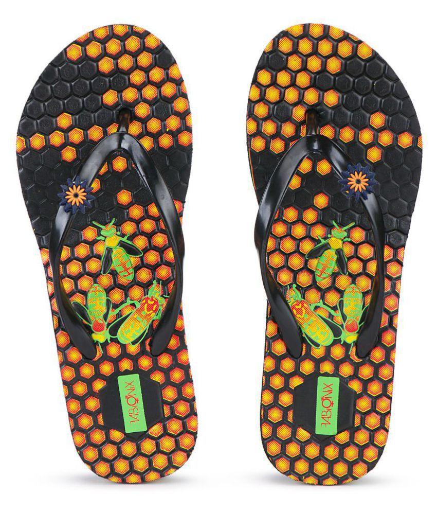 FABIONIX Orange Slippers