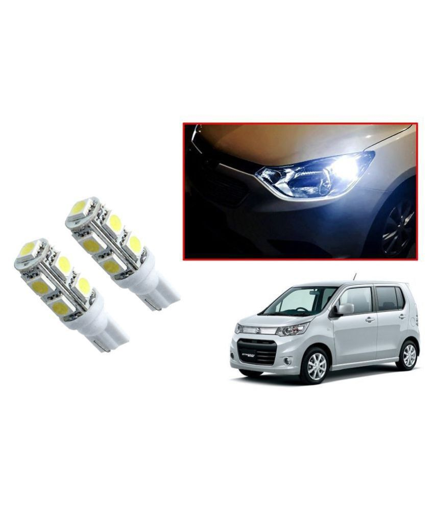 Auto Addict Car T10 9 SMD Headlight LED Bulb for Headlights,Parking Light,Number Plate Light,Indicator Light For Maruti Suzuki WagonR Stingray