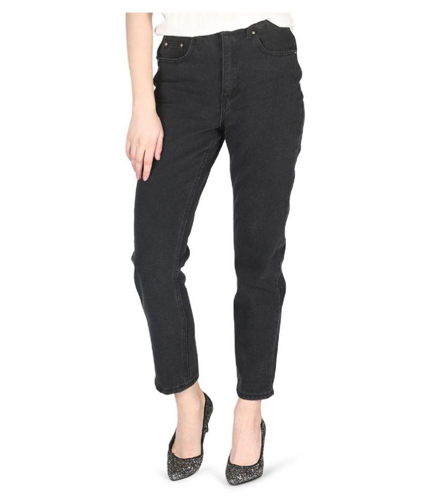 London Rag Cotton Jeans - Black