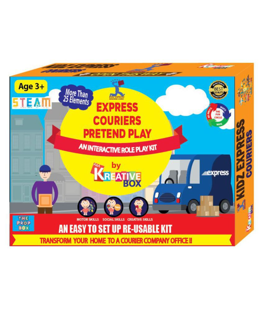 Express Couriers Pretend Play