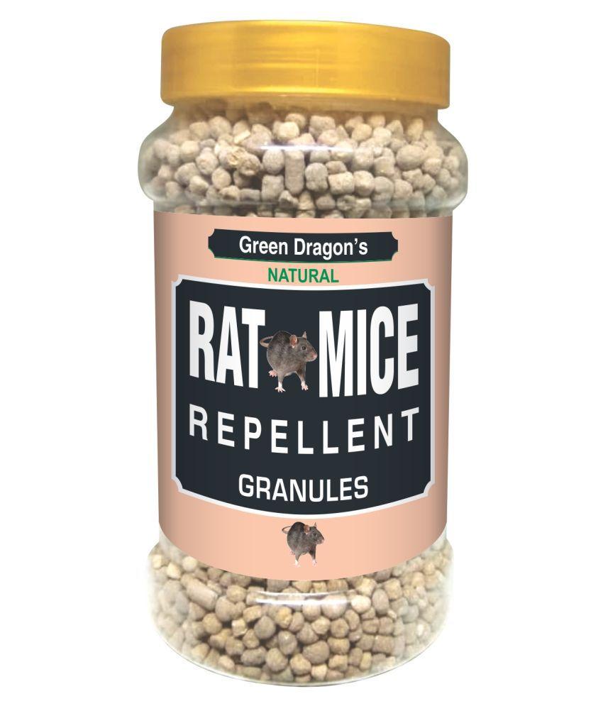 Green Dragon Natural Rat & Mice Rodent Naphtalene Balls Repellent Granules