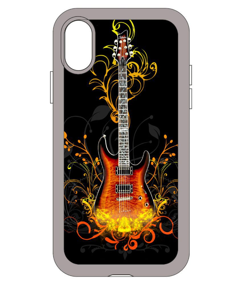 Apple iPhone X Printed Cover By aadia