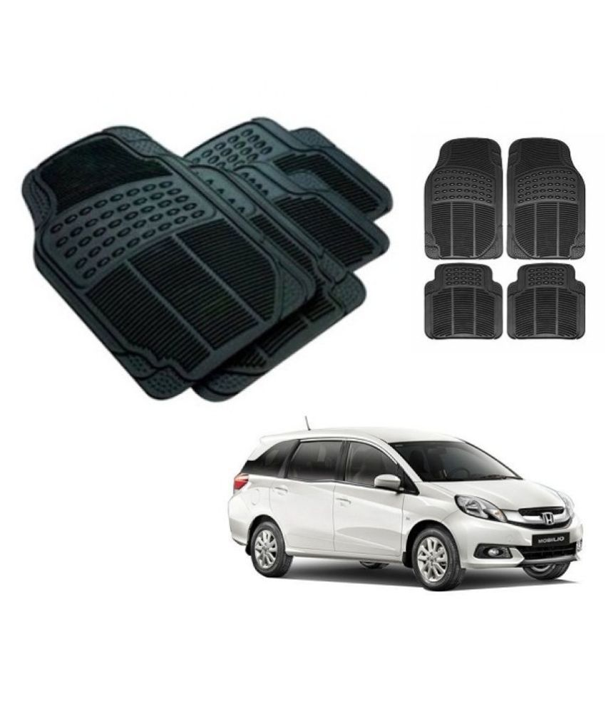 Trigcars Black Set of 4 Floor Mat