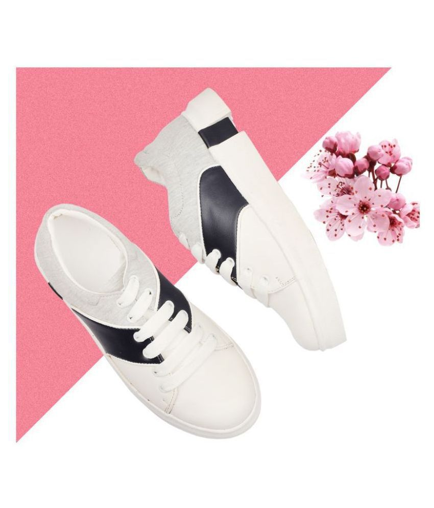 ADIAIR White Casual Shoes