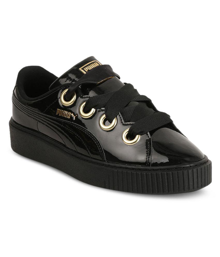 Puma Black Casual Shoes