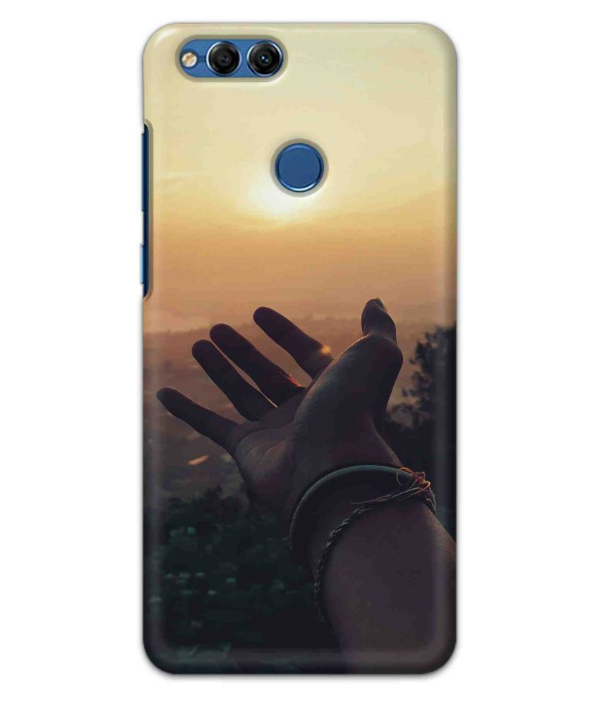 Huawei Honor 7X Printed Cover By Printor