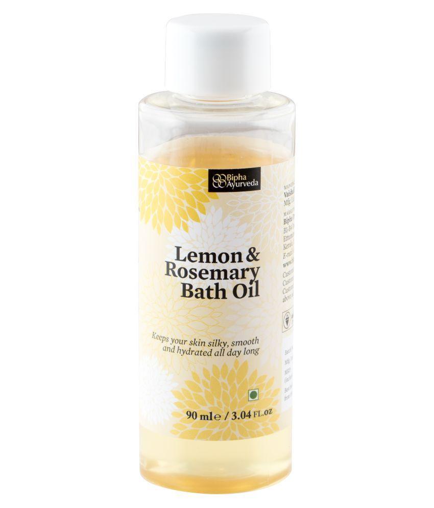 Bipha Ayurveda Lemon & Rosemary Bath Oil Bath Kit
