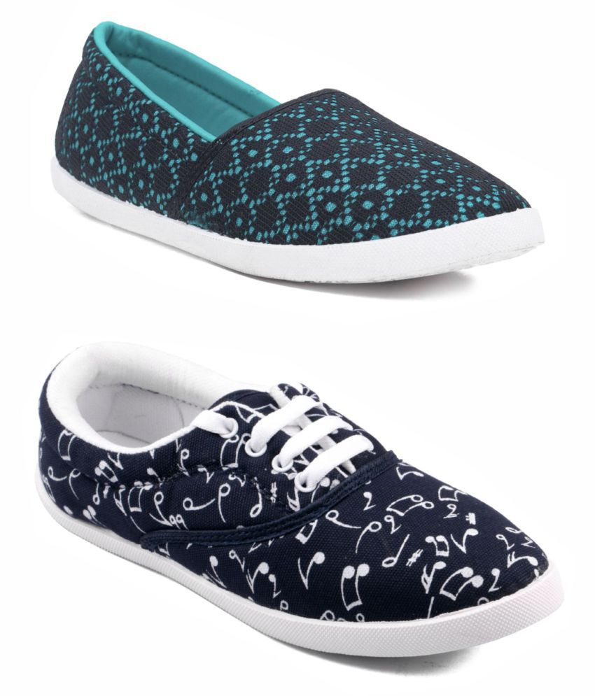 ASIAN White Casual Shoes