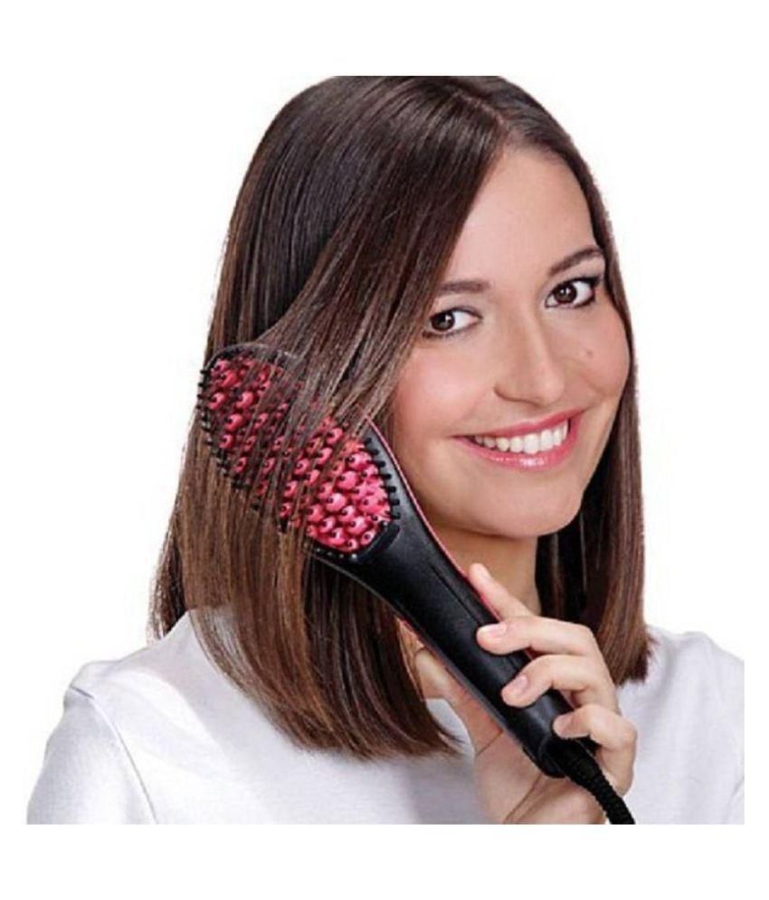 Rudra Sales India Hair Straightener Hair Straightener ( BLACK )