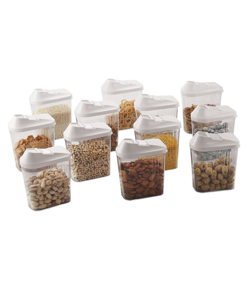 STEELO Skippar Polycarbonate Food Container Set of 12 750 mL