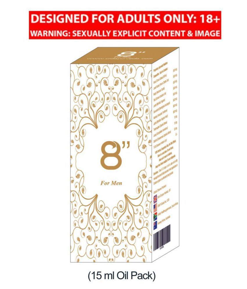 8 Inch Sexual Wellness & Penis Enlargement for Men(15 ML Oil Pack)