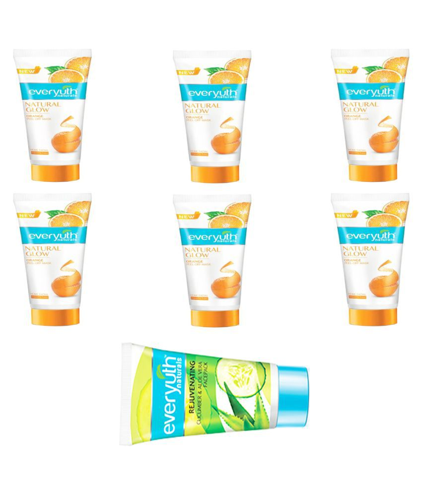 Everyuth Naturals Face Pack 12 ml Pack of 7