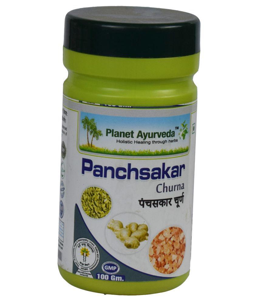 Planet Ayurveda Panchsakar Churna  Powder 100 gm Pack Of 2