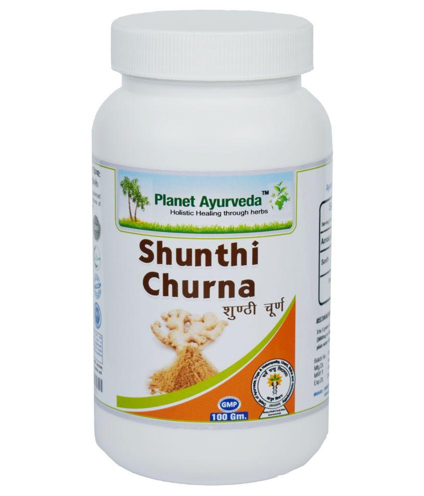 Planet Ayurveda Shunthi Churna  Powder 100 gm Pack Of 2