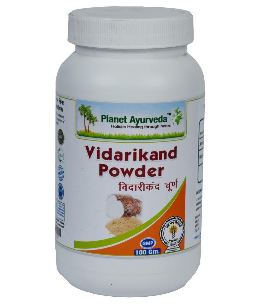 Planet Ayurveda Vidarikand Powder  Powder 100 gm Pack Of 2