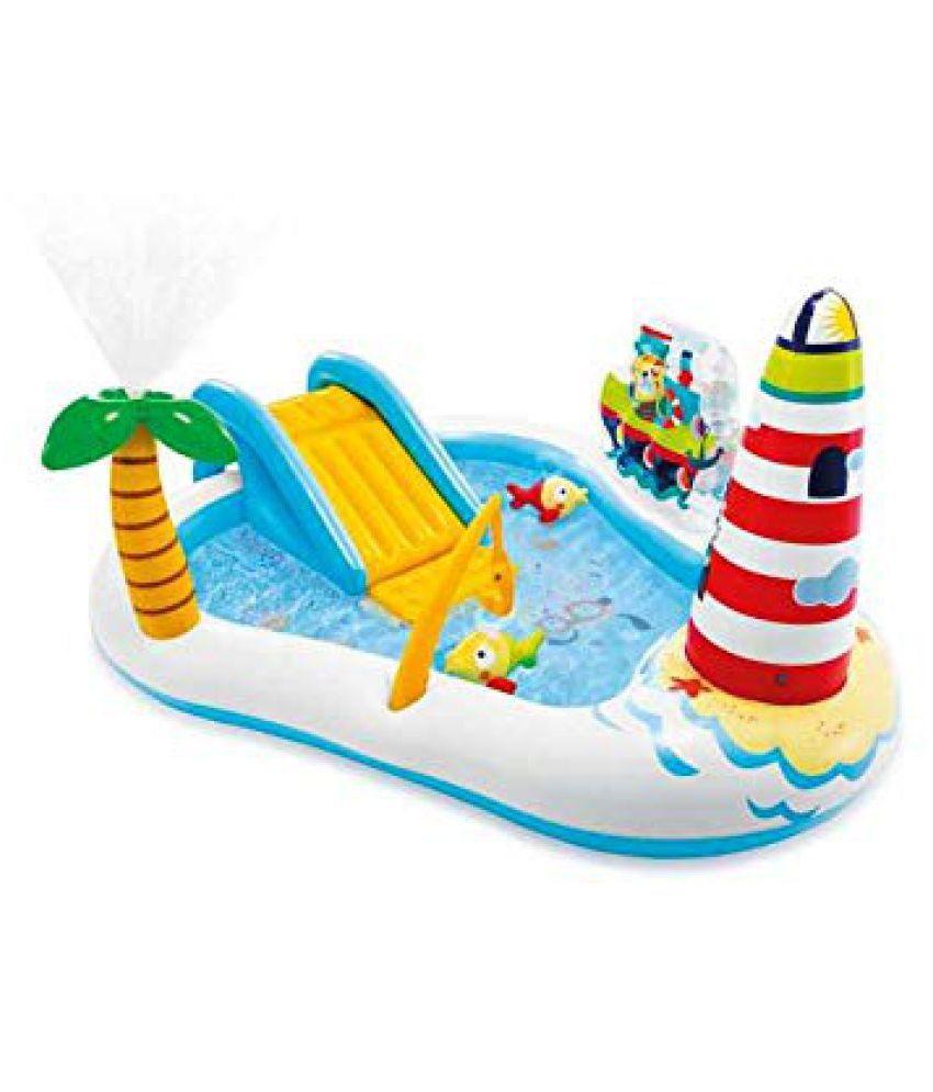 Fastdeal Fishing Fun Play Center Inflatable Kiddie Pool 57162