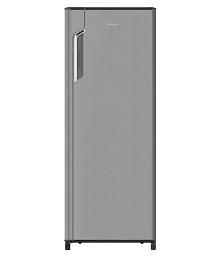 Whirlpool 280 Ltr 4 Star 305 IMPRO PRM INV Single Door Refrigerator - Steel