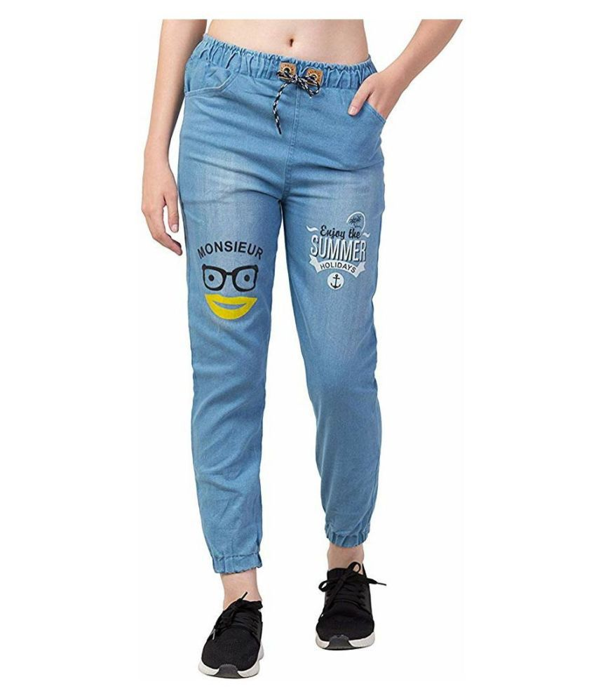 Jai Kalka Enterprise Denim Jeans - Blue