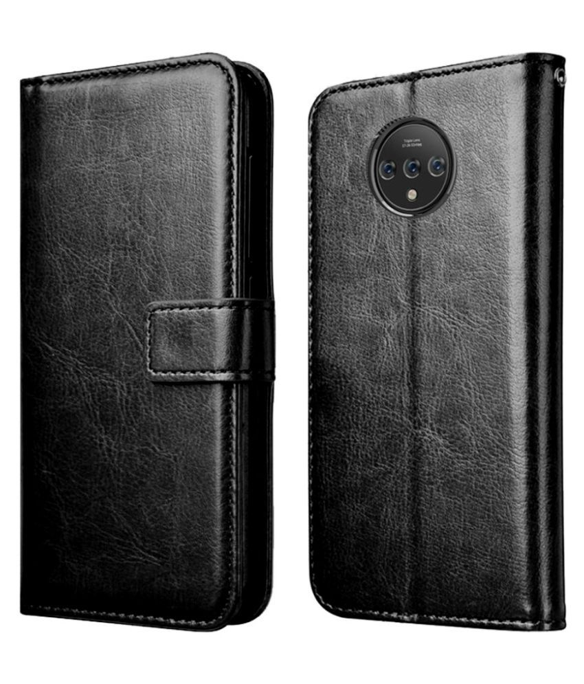 OnePlus 7T Flip Cover by XORB   Black