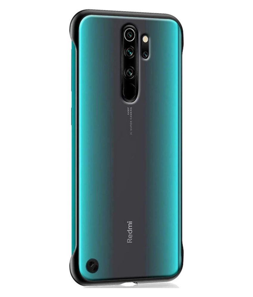 Xiaomi Redmi Note 8 Pro Hybrid Covers Wow Imagine Black Plain Back Covers Online At Low Prices Snapdeal India
