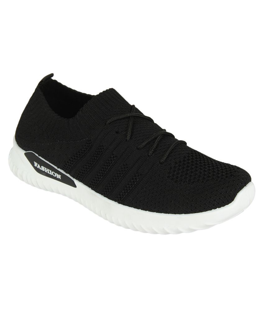 Cubane-50 Black Casual Shoes