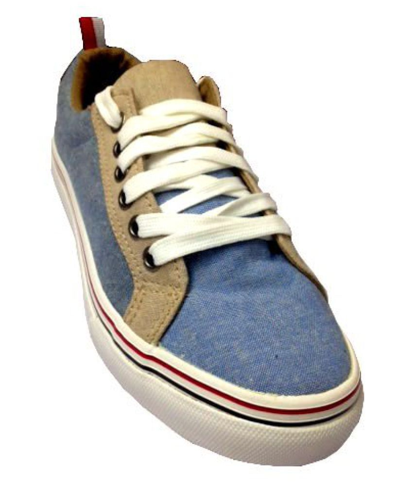 MY FOOT MY STYLE MY WAY Blue Casual Shoes