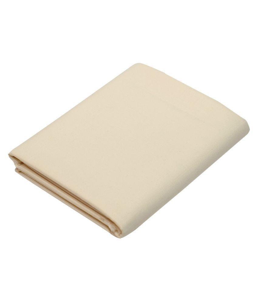KUNDAN SULZ GWALIOR Off-White Cotton Blend Unstitched Shirt pc