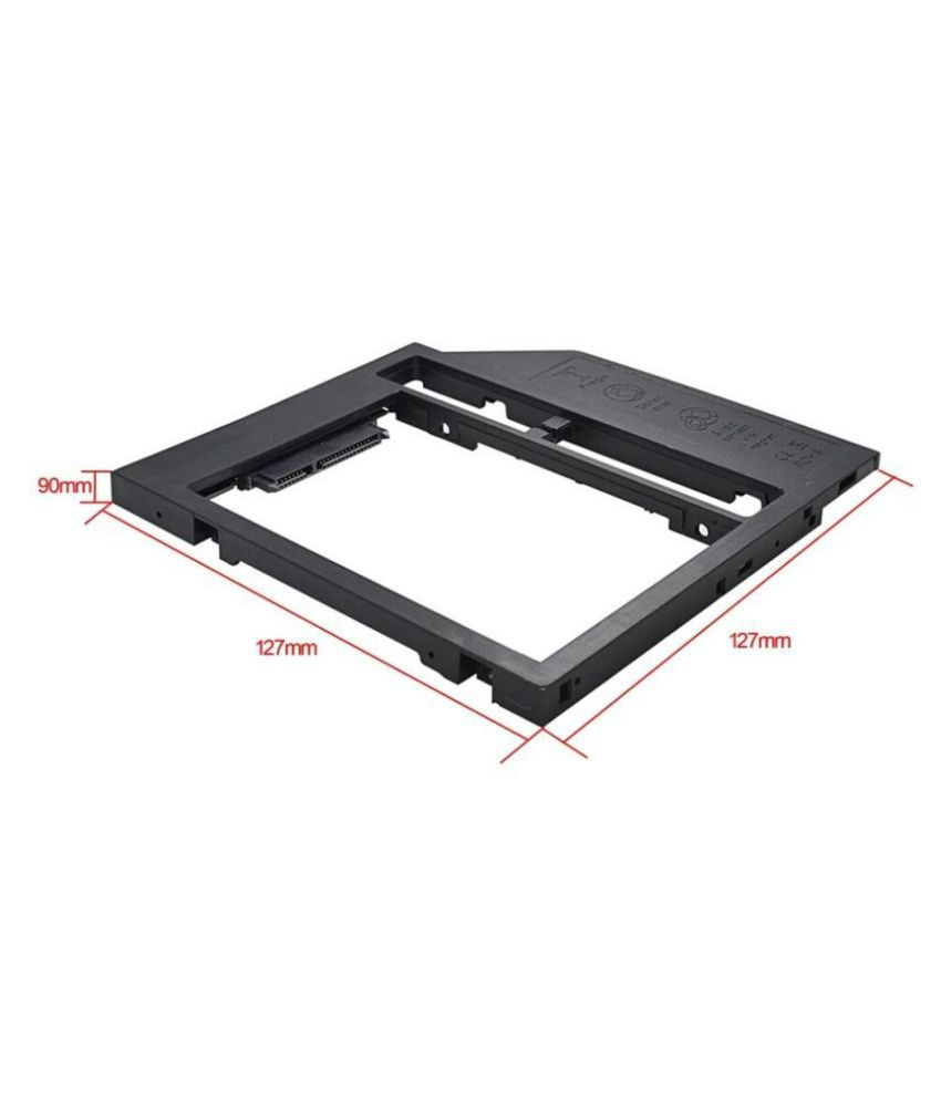 "9mm 2.5/"" SATA HDD SSD Hard Drive Caddy Tray for Laptop Optical Bay"