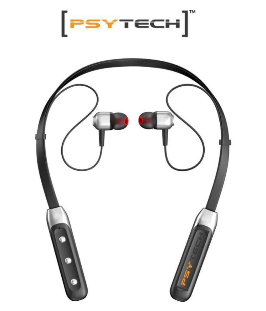 Psytech FLEXIBAND 4D EXTRAA BASS Neckband Wireless With Mic Headphones/Earphones