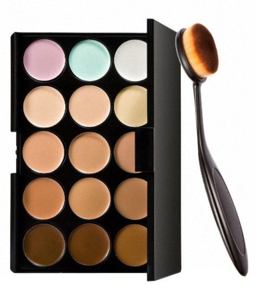 RTB 15 Color Cream Concealer & Contour Brush Medium Pack of 2 15 mL