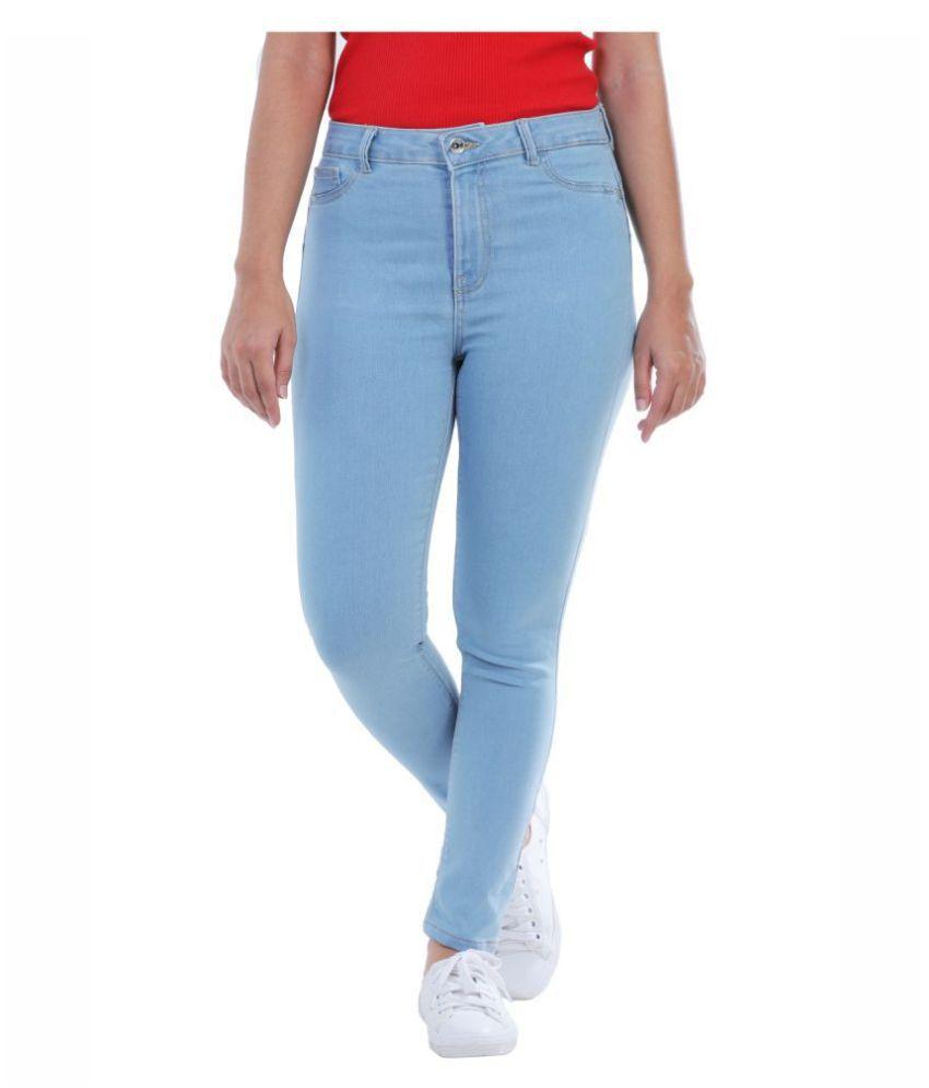 Timbre Denim Lycra Jeans - Blue