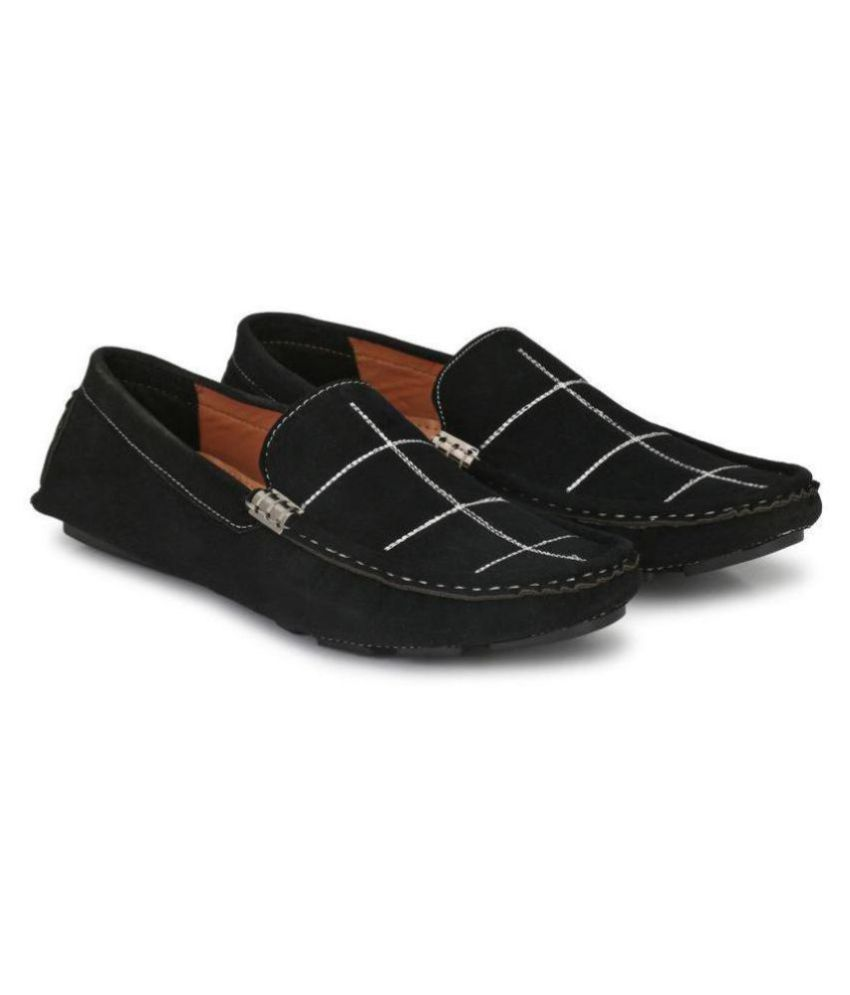 FOGGY Black Loafers