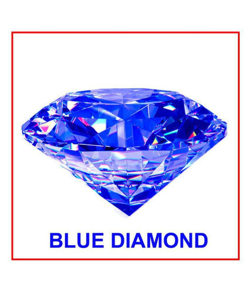 Maya Gems/ Original BLUE Diamond Gemstone (zircon)