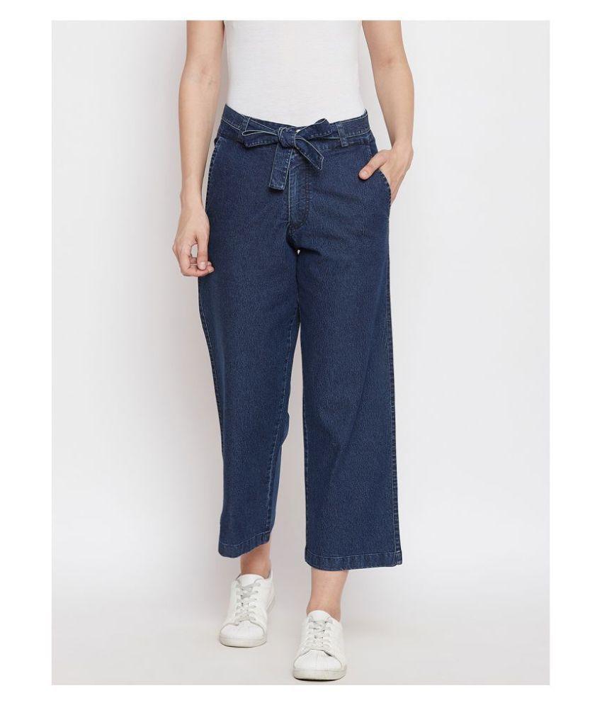 AUSTIN WOOD Cotton Jeans - Navy