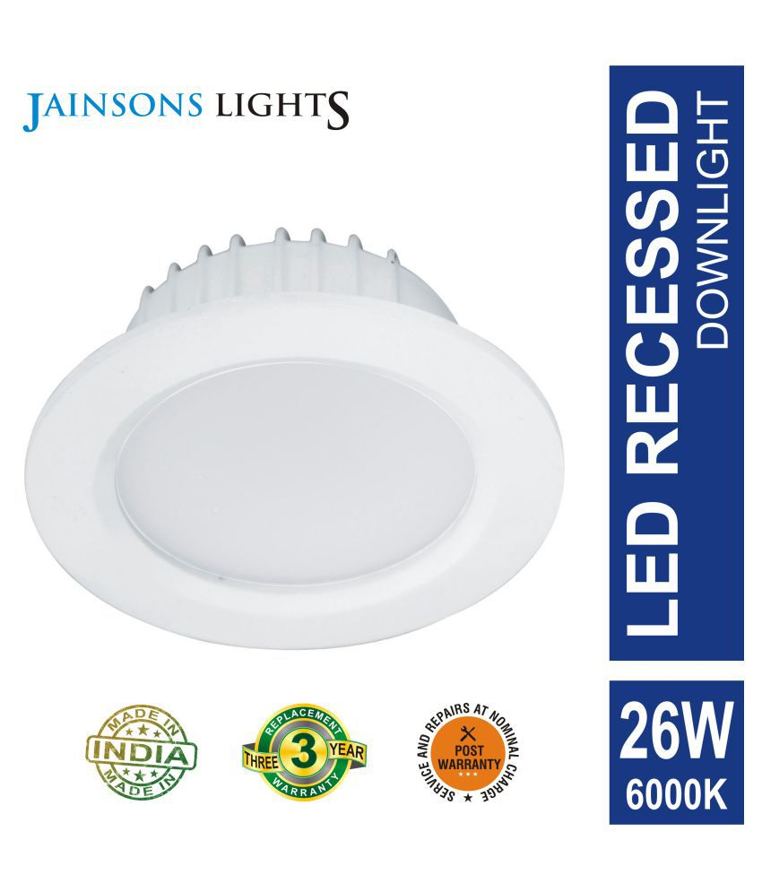 Jainsons Lights 26W Round Ceiling Light 15 cms. - Pack of 1