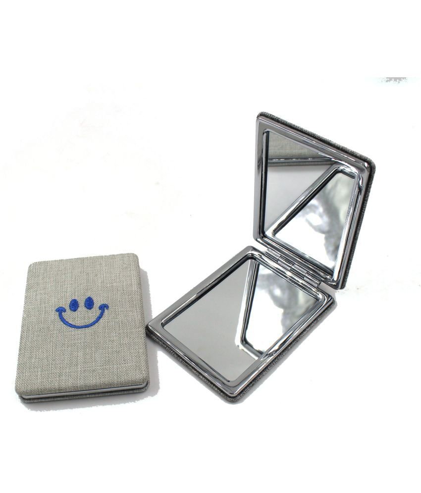 Top Notch Dual Sided Square Compact Mirror 2x